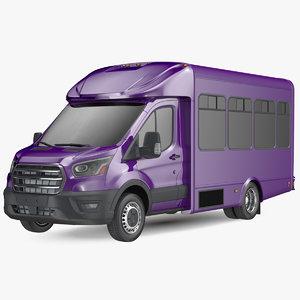 passenger shuttle bus simple model