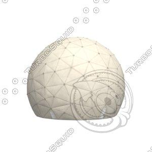 radar radome 3D model