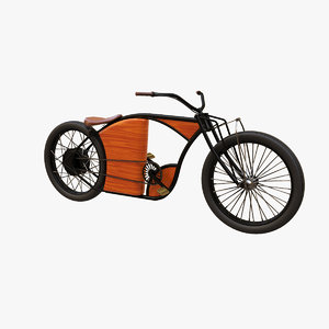 3D electric bicycles v2 model