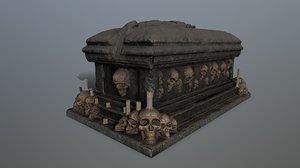 3D tomb 1 model
