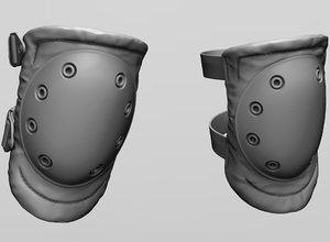 knee pad model