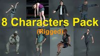 8 Characters Pack