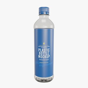 plastic bottle 3D model