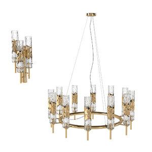 chandelier wall lamp 3D model