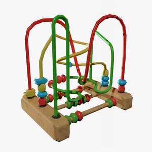 3D kids toys wire
