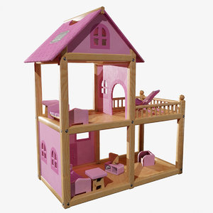 kids toys dollhouse 3D