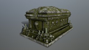 tomb candle model