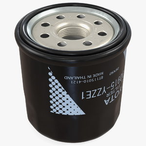 3D model denso oil filter toyota