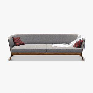 bentley home newent sofa 3D model