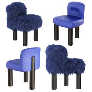botolo armchair 3D model