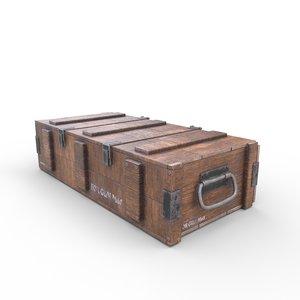 ammo crate02 3D model