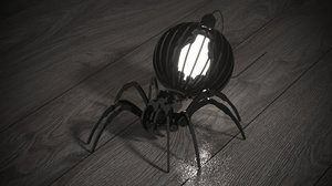 spider lamp 3D