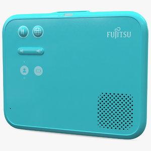 fujitsu wearable speech translator 3D model