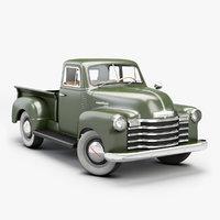 1951 Chevrolet Pickup 3100 [low poly]