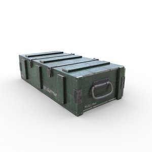 ammo crate04 3D model