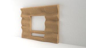 3D model parametric tv