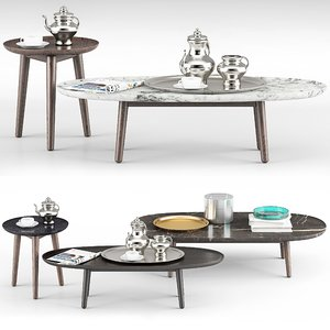 poliform mad coffee tables model