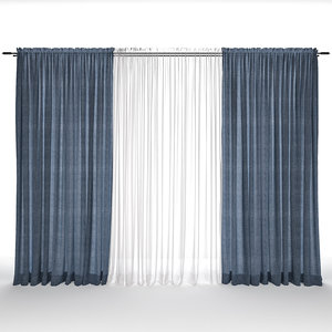 decor curtains drape model