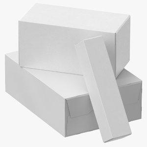 cardboard box set 01 3D
