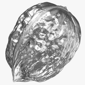 walnut 04 silver 3D