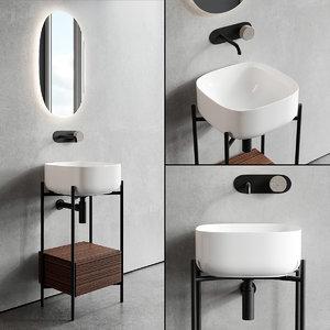 floor-standing vanity diva unit 3D