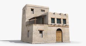 ready arab 3D model