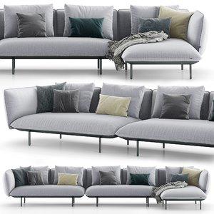 tribu senja sofa 3D