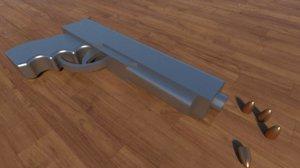 3D weapon gun