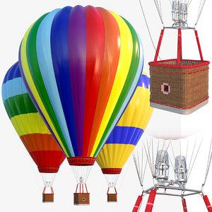 3D flying ball model