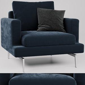3D armchair larsen model