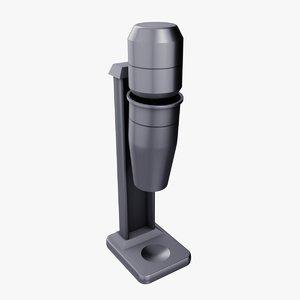 single bar mixer 3D model
