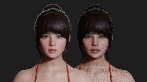 3D model joy realistic character -