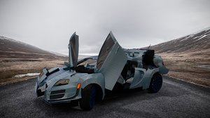 transformer autobot car animation 3D