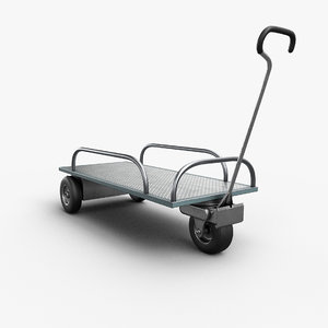 3D realtime wheel trolley model