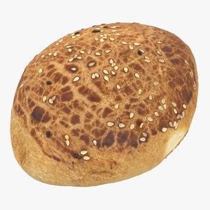 sesame pastry model