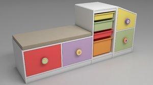 rooms toys 3D model