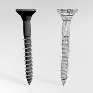 hardware drywall screw 01 model