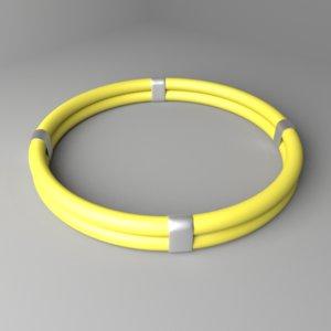 3D plastic ring 6