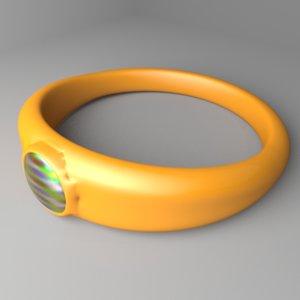 plastic ring 7 model