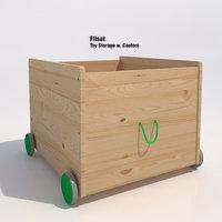Ikea Flisat Toy Storage Bin