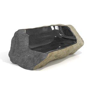 stone sofa choi byung 3D