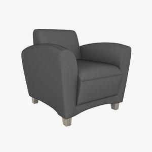 3D chair aspire model