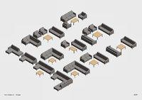 Revit Parametric Sofa Collection