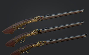 3D gun rifle pistol