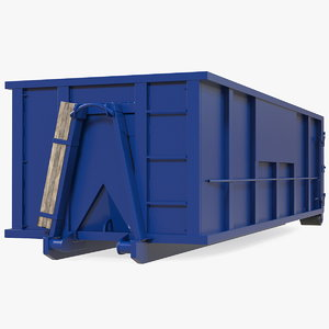 roll dumpster container 30 3D model