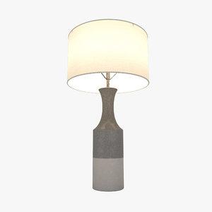 3D lamp lighting model