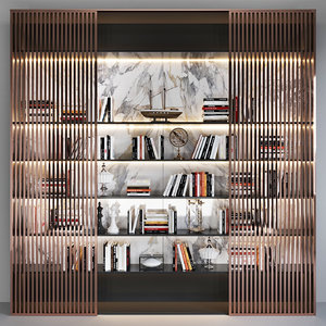 decor books 3D model
