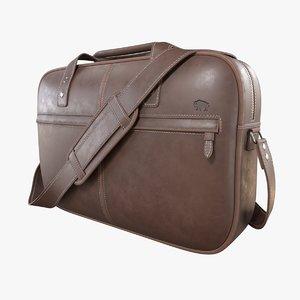 leather case 3D model