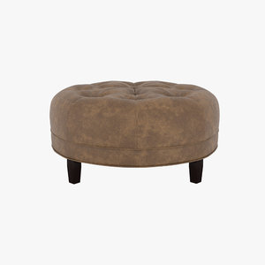 3D ottoman footrest seating