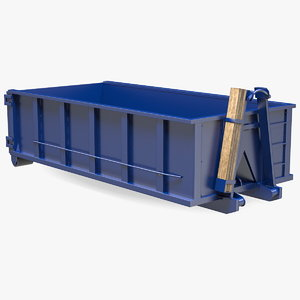 roll dumpster container 15 3D model